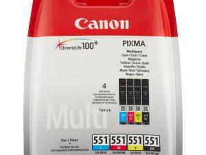 Canon CLI-551 Multipack 4 tintapatron