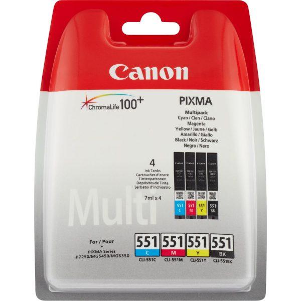 Canon CLI-551 Multipack_4